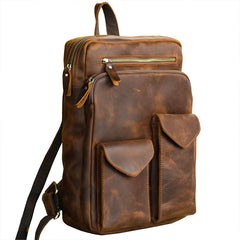 Cool Brown Leather Mens 14