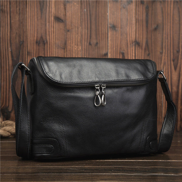 Trendy Fashion Leather Men's Messenger Bag Business Shoulder Bag For Men