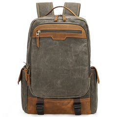 CANVAS WATERPROOF 15'' MENS LARGE NIKON CAMERA BACKPACK CANON CAMERA BAG DSLR CAMERA BAG FOR MEN