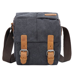 Brown CANVAS WATERPROOF MENS Small Side CAMERA Bag LARGE NIKON CAMERA BAG Gray DSLR CAMERA BAG FOR MEN
