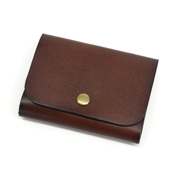 Leather Mens Front Pocket Wallet Small Wallets Card Wallet Change Wallet for Men