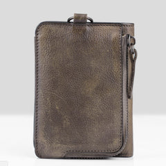 Handmade Leather Mens Chain Biker Wallet Cool Leather