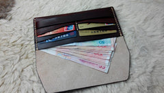 Cool Leather Bifold Mens Long Wallet Leather Long Wallets for Men