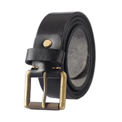 Cool Leather Simple Black Leather Belts Mens Belt Men Brown Leather Belts for Men