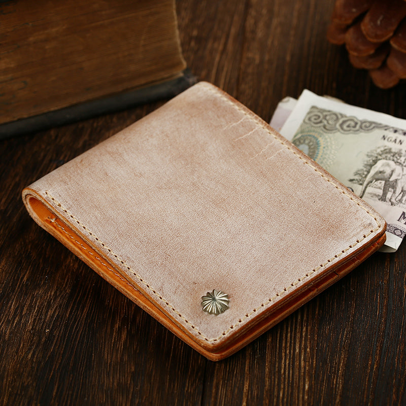 Casual Handmade Mens Black billfold Wallet Red Bifold Card Wallet Small Wallet For Men