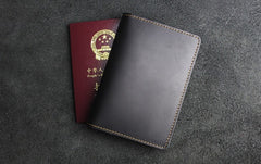 Handmade Leather Floral Mens Cool billfold Wallet Passport Card Holder Small Card Slim Wallets for Men