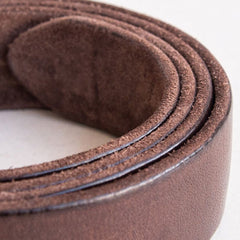 Handmade Genuine Custom Leather Mens Indian Leather Men Coffee Belt for Men