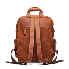 Cool Brown Mens Leather Dark Brown 15