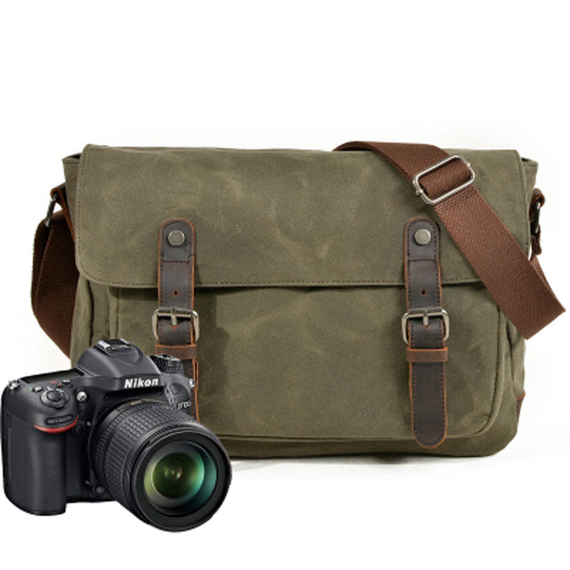 d1a6b04275 Mens Canvas Camera Messenger Bag Camera Side Bag Camera Shoulder Bag f –  iwalletsmen