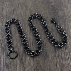 Cool Black Punk Pants Chain Biker Wallet Chain Black Jeans Chain Jean Chain Long Wallet Chain For Men