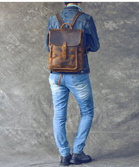 Vintage Leather Mens 13