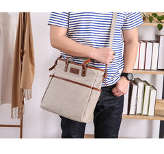 Casual Canvas Leather Mens Womens Large 13