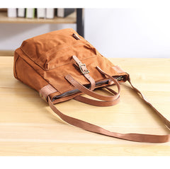 Canvas Leather Mens Womens Handbag Tote Bag Shoulder Bag Tote Purse For Men