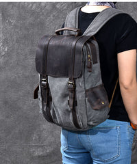 Cool Canvas Leather Mens Womens 15