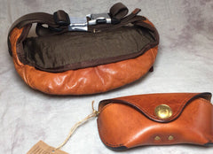 Cool Leather Mens FANNY PACK MENS WAIST BAG HIP PACK BELT BAG FOR MEN