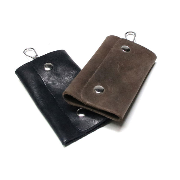 Cool Leather Mens Key Wallet Wallet Key Holder Car Key Case for Men