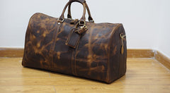 d1ef60d2c39a ... Cool Leather Mens Overnight Bags Weekender Bag Vintage Travel Bags  Duffle Bags for Men ...