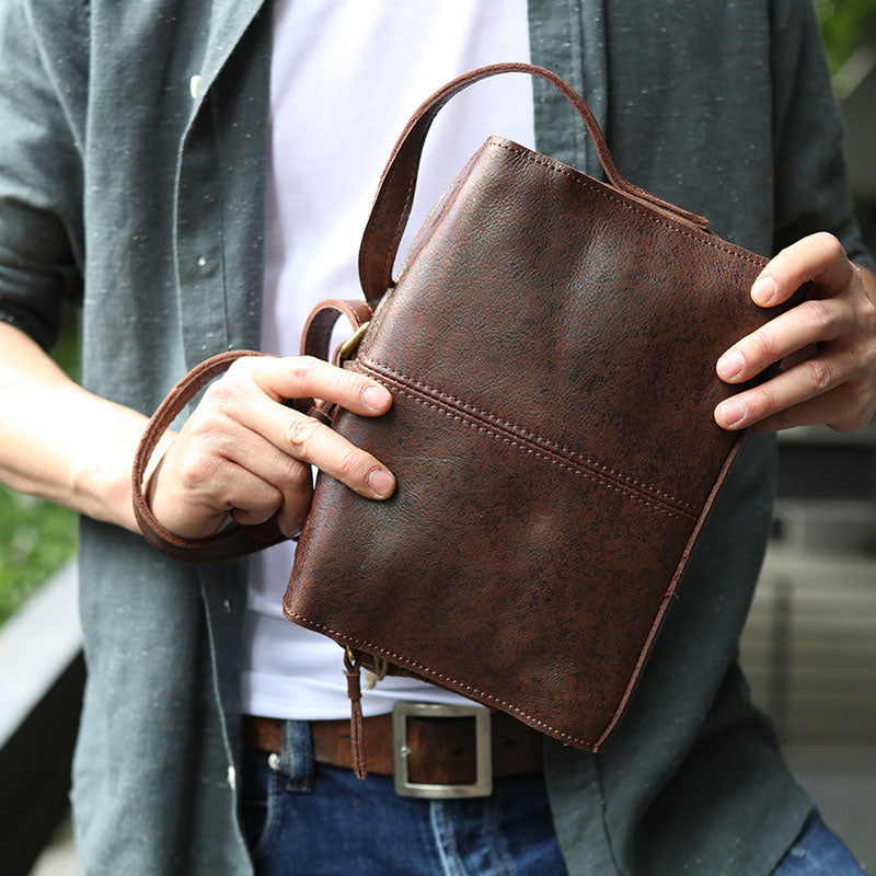 Next.  109.00 109.00. Overview:. Design  Cool Leather Mens Small Messenger  Bag ... 5a149317f062f