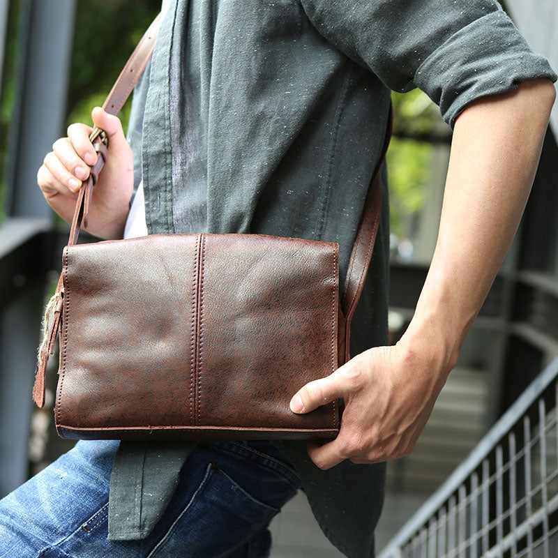 Next.  109.00 109.00. Overview:. Design  Cool Leather Mens Small Messenger  Bag Shoulder ... 6e05f22fe6b58