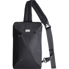 Cool Oxford Cloth Casual Men's Sling Bag Black One Shoulder Backpack Chest Bag For Men