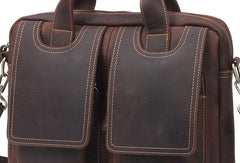 VINTAGE LEATHER MENS LARGE BRIEFCASES BUSINESS BRIEFCASEs COOL SHOULDER BAG HANDBAGS FOR MEN