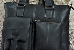 Cool Mens Leather Briefcase Cool Business Briefcases Vintage Shoulder Bag For Men
