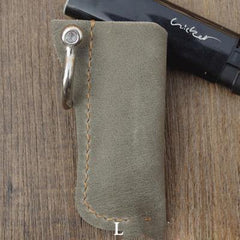 Bic j3 Leather Lighter Case Leather Bic j3 Lighter Holders Handmade Beige Leather Bic j3 Lighter Covers For Men