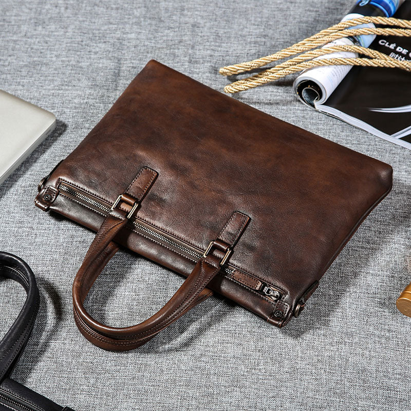 663059100fb Next.  259.00 259.00. No reviews. Overview:. Design  Handmade Leather Mens  Cool Messenger Bag Briefcase Work Bag Business ...