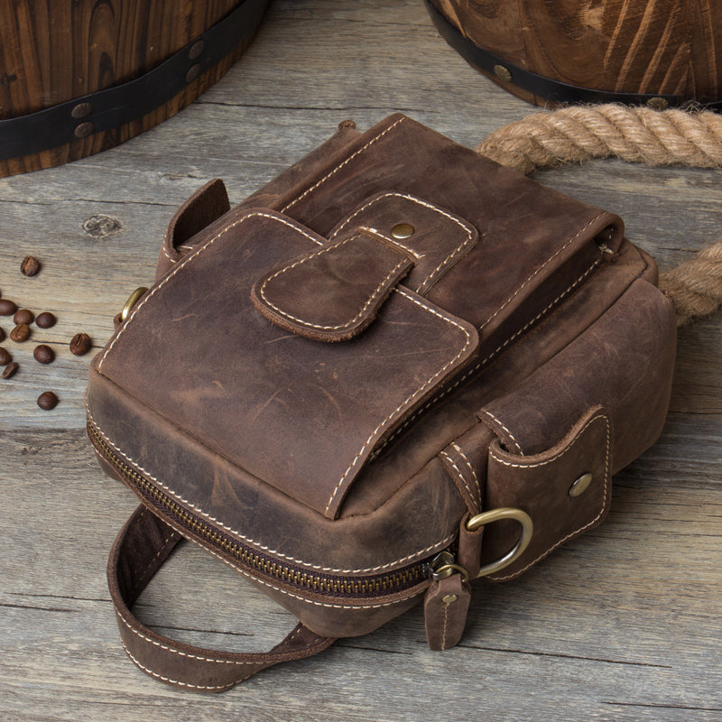 Leather Belt Pouch Mens Camera Bag Waist Bag Shoulder Bag for Men –  iwalletsmen 6f9e7dca6f044
