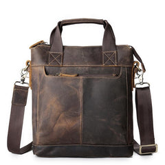 Vintage Leather Mens Briefcase Work Briefcases Business Briefcases Laptop Briefcases For Men