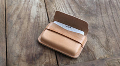 Leather Mens Card Wallets Front Pocket Wallets Cool Small Change Wallets for Men