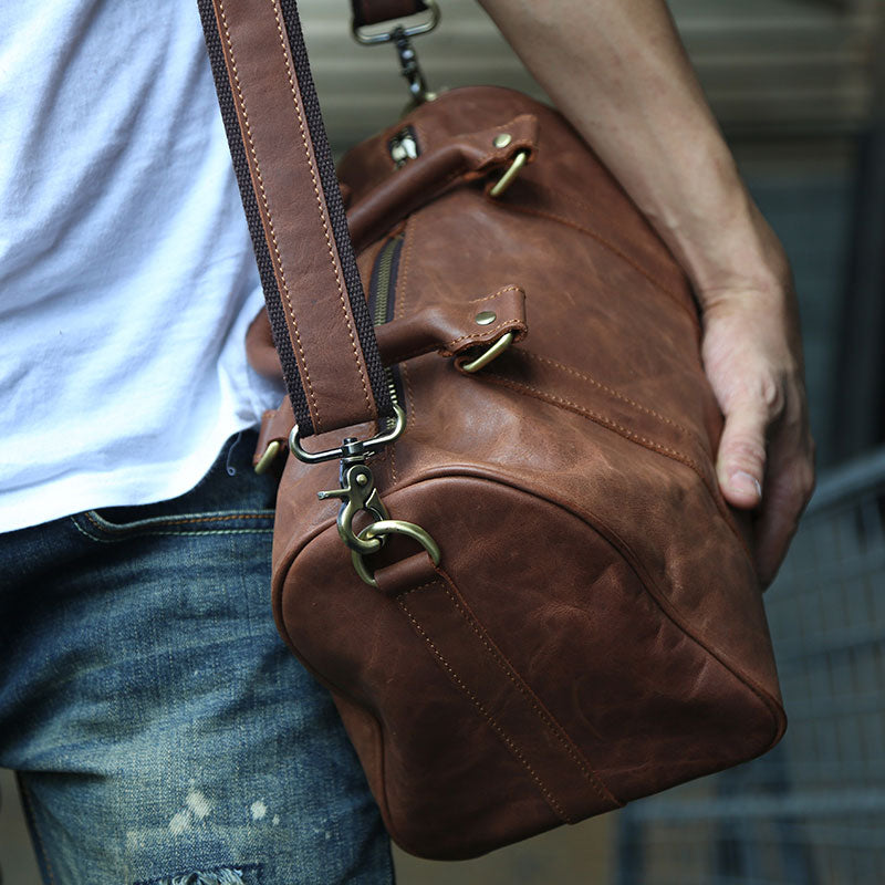 bb8ae28e1604 Next.  139.00 139.00. Overview:. Design  Leather Mens Small Weekender Bags  ...