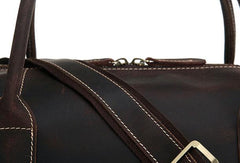 Leather Mens Weekender Bag Duffle Bag Overnight Bag Travel Bag