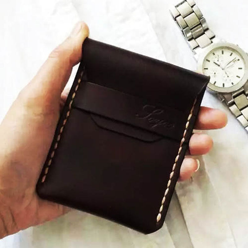 000824b0a530 Previous. Next. $29.00$29.00. Overview:. Design: Mens Coffee Leather Slim  Front Pocket Wallets ...