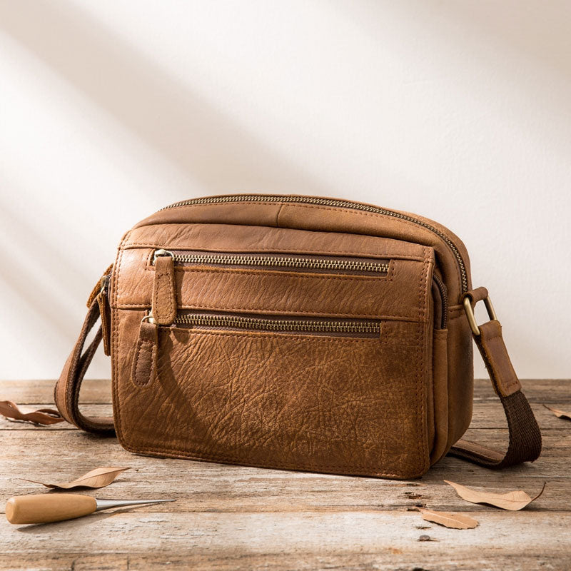 Previous. Next.  109.00 109.00. Overview:. Design  Cool Leather Mens Small  Messenger Bags Shoulder Bag for Men fb12dfed23