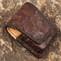 Cool Mens Leather Zippo Lighter Cases with Loop Zippo lighter Holders with clips