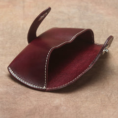 Handmade Mens Leather Glasses Case Glasses Box Glasses Holder For Men
