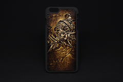 Handmade Leather Tooled iPhone6 7 plus 6s 7s plus League of Legends iPhone Case