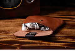 Handmade Mens Cool billfold Leather Wallet Men Small Coin Slim Wallets Bifold for Men