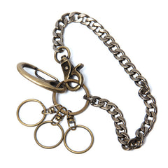 Brass biker trucker Keychain wallet Chain for chain wallet biker wallet trucker wallet
