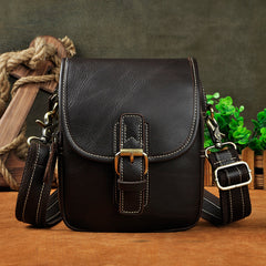 Cool Leather Belt Pouch Belt Bag Waist Bag Small Shoulder Bags For Men