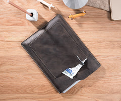 Handmade Leather Mens Clutch Cool Slim iPad Pro Case iPad Pro Cover for Men