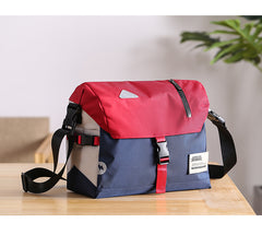 Trendy Nylon Cloth Mens Motorcycle Bag Postman Bag Messenger Bag Side Bag For Men