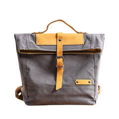 Canvas Mens Womens Small 13'' Side Bag Courier Bag Messenger Bag for Men