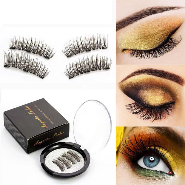 3D Handmade Magnetic Eyelashes