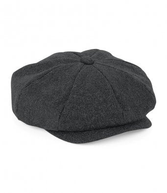 Melton Wool Baker Boy (Peaky Blinders) Cap
