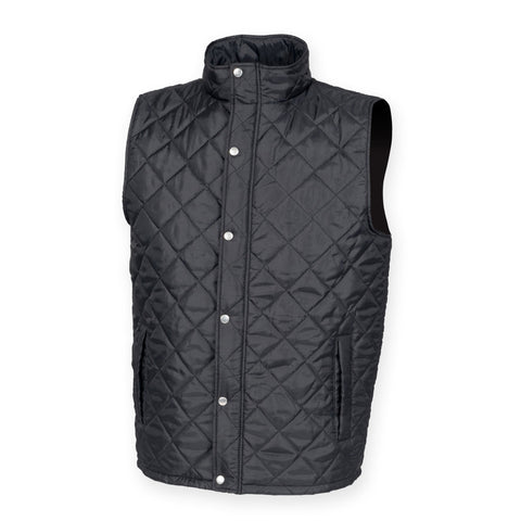 Gilet And Bodywarmers - Diamond Quilted Men's Gilet
