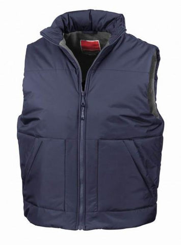 Gilet And Bodywarmers - Fleece Lined Men's Bodywarmer