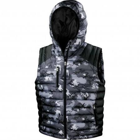 Gilet And Bodywarmers - Urban Camo Gilet Hoodie