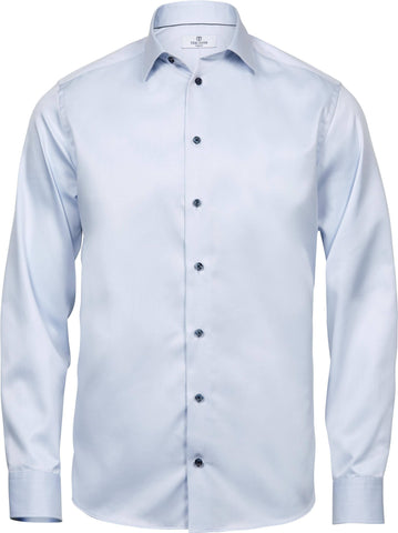 Long Sleeve Shirt - Luxury Comfort Fit Long Sleeve Oxford Shirt